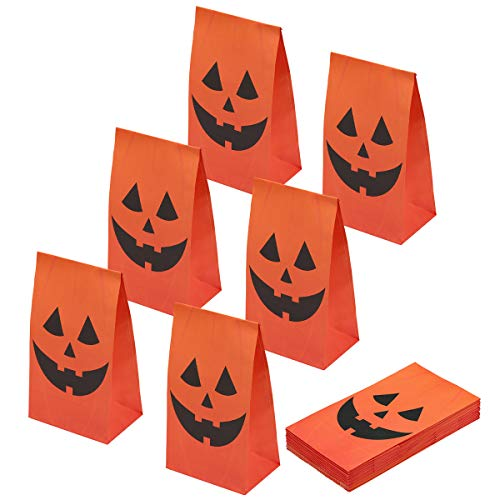 Aresmer Halloween Party Bags Party Favor Bags, Halloween Goodie Bags by Spooktacular Creations, Set of 24 -