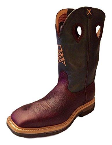 Buy mens steel toe cowboy boots square toe