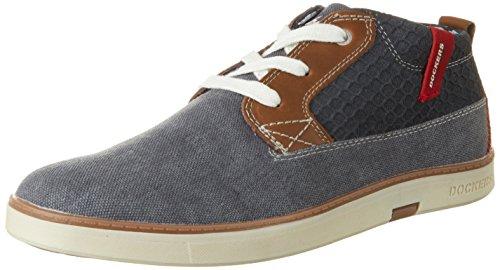 Homme Hautes 38se015 712600 Dockers Bleu 600 blau Sneakers Gerli By YwTwpPq6
