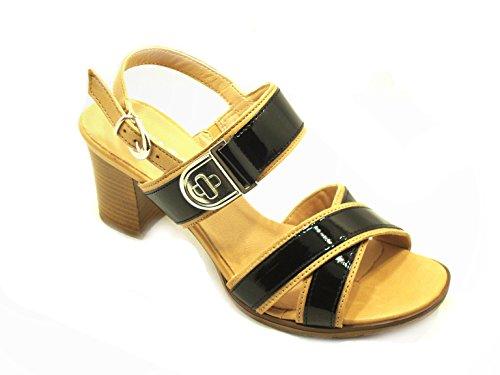 IGI&Co - Sandalias de vestir de Piel para mujer nero camel -
