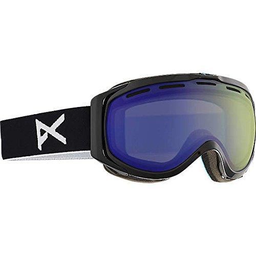 Anon Hawkeye Snow Goggles Black with Blue Lagoon & Amber Lens -  13236100004_Black/Blue Lagoon