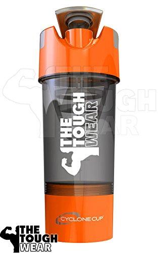 Cyclone Cup Shaker, Orange with TheToughWear Logo