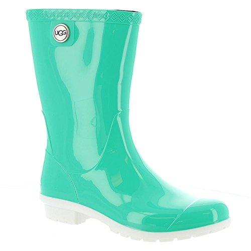 UGG Women's Sienna Rain Boot, Neon Green, 11 B - Footwear Green Neon