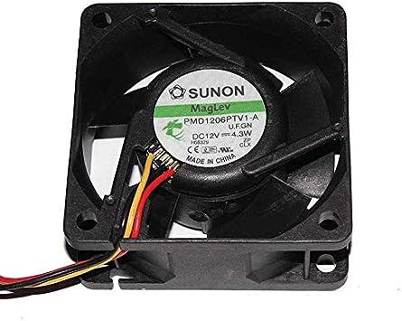 Ayazscmbs enfriamiento Ventilador para SUNON 606025mm PMD1206PTV1 ...