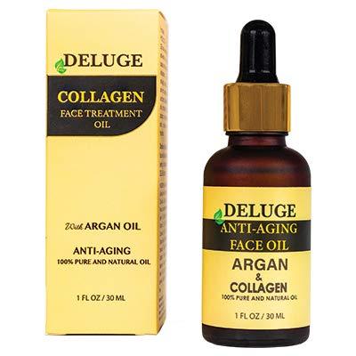 Amazon Com Collagen Face Oil With Argan Oil 100 Natural Fine