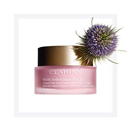 Clarins Multi-Active Jour/Day Cream SPF 20 All Skin Types - 1.7 oz (Active Moisturizing Cream)