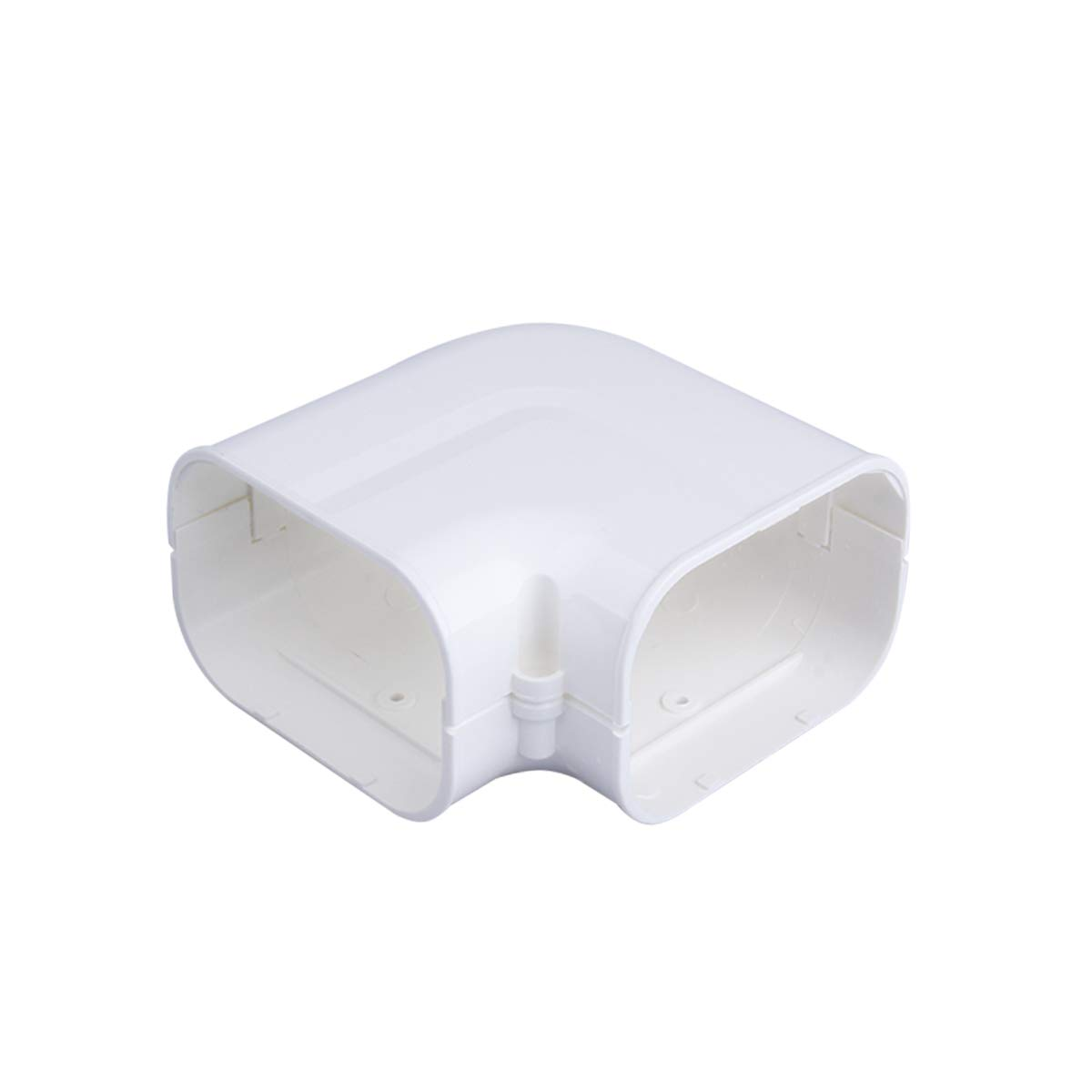AC Parts 4 W 90 Degree Elbow Bend Fitting for PVC Line Set Cover Kit . Beige
