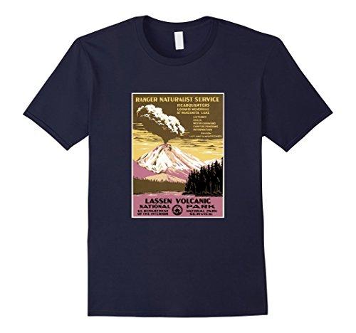Men's Lassen Volcanic National Park, Hawaii - Vintage Pos...