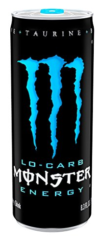 (Lo-Carb Monster Energy, Energy Drink, 8.3 Ounce (Pack of 24))