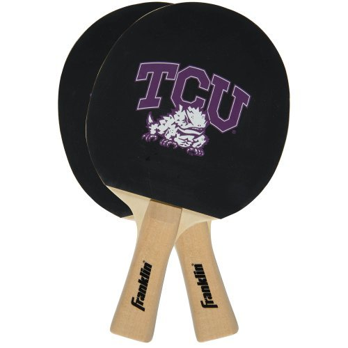 Franklin Sports NCAA North Dakota St. Bison Collegiate Table Tennis Paddle Set
