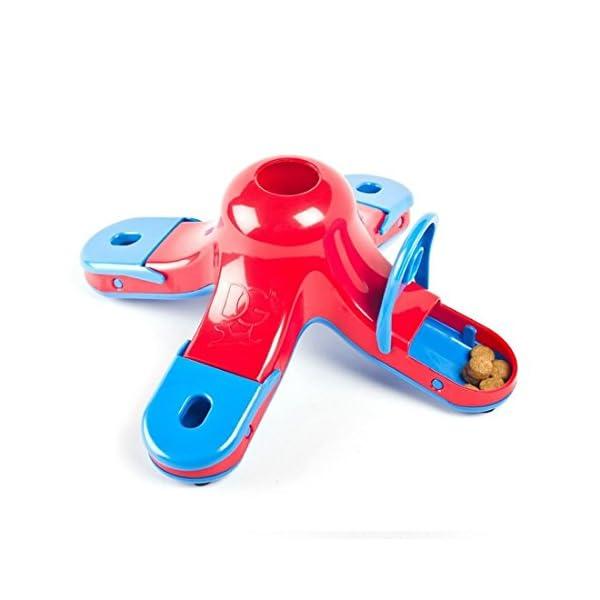 CLKJCAR Dog Training Toys, Dog Educational Toys Dog Feeder Puzzle Dog Food Toy Dog Toys Slow Feed Bowl 5