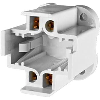 26 To 32 Watt Cfl Socket 4 Pin G24q 3 And Gx24q 3 Base Screw Mounted Lampholder Plt 285