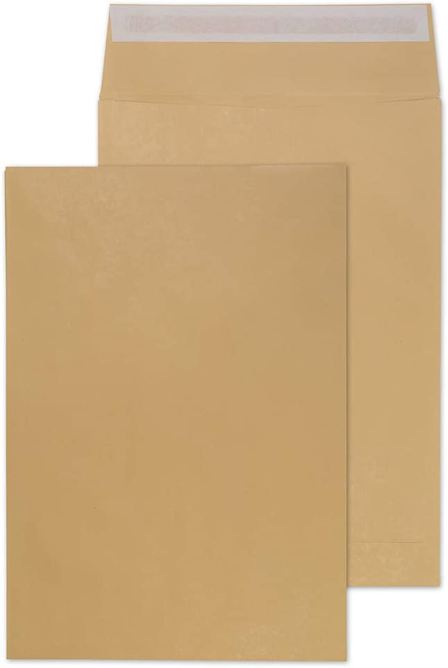 Sobres autoadhesivos con refuerzo Purely Packaging tama/ño C3, papel de manila, 450 x 324 x 30/mm, 125 unidades