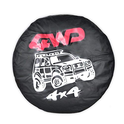 (Universal Car Spare Wheel Tire Tyre Soft Cover 31