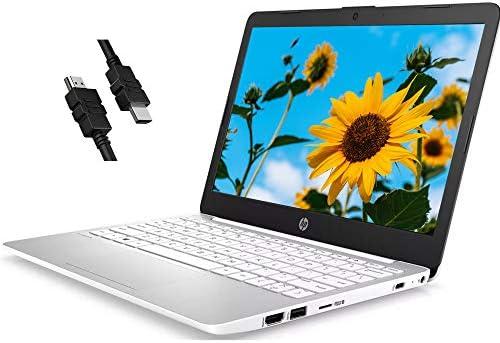 "2020 Premium HP Stream 11 Laptop Computer 11.6"" HD WLEDAnti-Glare Intel Celeron Processor N4000 4GB RAM 32GB eMMC Office 365 Personal USB-C WiFi HDMI Win 10 + iCarp HDMI Cable"
