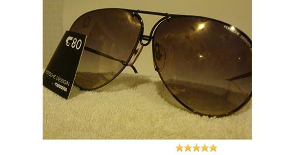 6000c75ec5 Amazon.com  Porsche Carrera Sunglasses 5621-86 Navy Blue Frame  Health    Personal Care