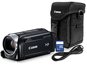Canon Vixia HFR400 Camcorder Bundle with case, 4GB Memory Card, HDMI cable, 8155B011
