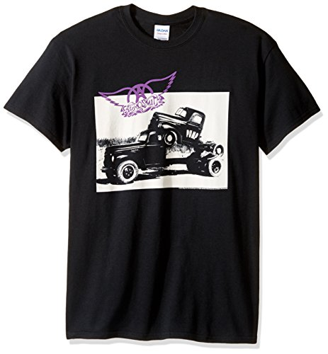 FEA Men's Aerosmith Pump T-Shirt, Black, ()
