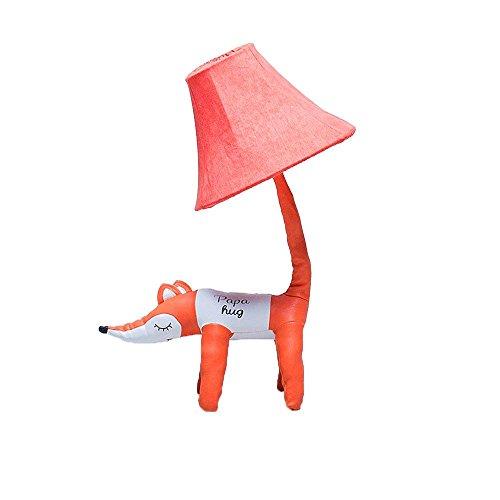 Nanle Children's table lamp crocodile cartoon animal creative modeling lamp boy room bedroom floor lamp table lamp (Design : Crocodile, Edition : Table lamp) (Color : Pink, Size : 50cm ()