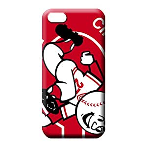 iphone 5 5s mobile phone carrying shells Protective Proof Hot Style cincinnati reds mlb baseball