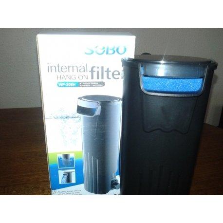tradeshoptraesio® - Filtro interno para Pecera acuarios Agua dulce y salada peces 500 l/h wp-208h: Amazon.es: Productos para mascotas
