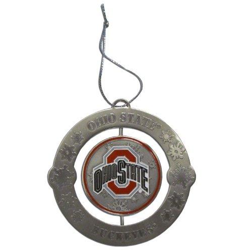 Ohio State Buckeyes NCAA Holiday Ornament (State Ohio Holiday Ornament)