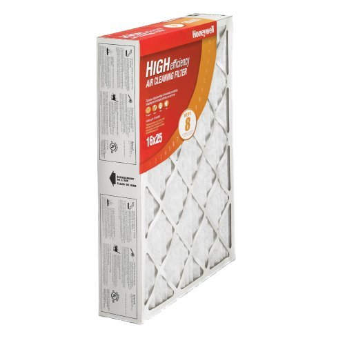 Honeywell CF100A1009 High Efficiency Air Cleaner Filter-  16 x 25 x 4 - 2 - Replacement Media Honeywell