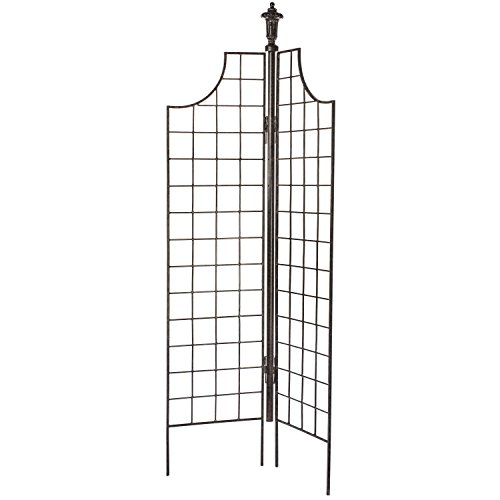 n Screen Trellis for Climbing Plants for Privacy Garden Flowers Vines Roses Clematis ()