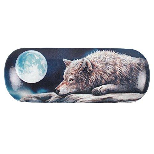 Lisa Parker Wolf Quiet Reflections Eyeglass Case/Trinket Box