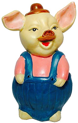 Pig Standing - Savings Bank - Piggy (Happy Pig Bank)