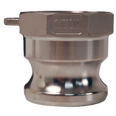 Dixon Valve 238-G125-A-BR 1.25 in. Brass Global Female Npt X
