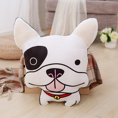 Hebao Cartoon Single Dog Pillow Cute Puppy Pattern Printing Sofa Poodle Female Birthday Gift Bell 45 40cm Amazoncouk Kitchen