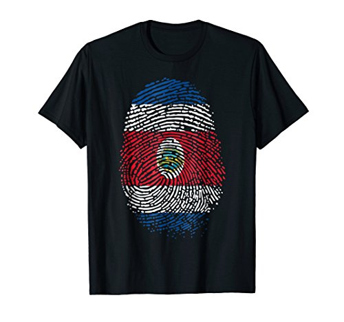 DNA Costa Rica T Shirt for Birthday Christmas Team Gift]()