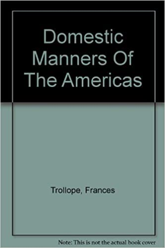 domestic manners of the americas