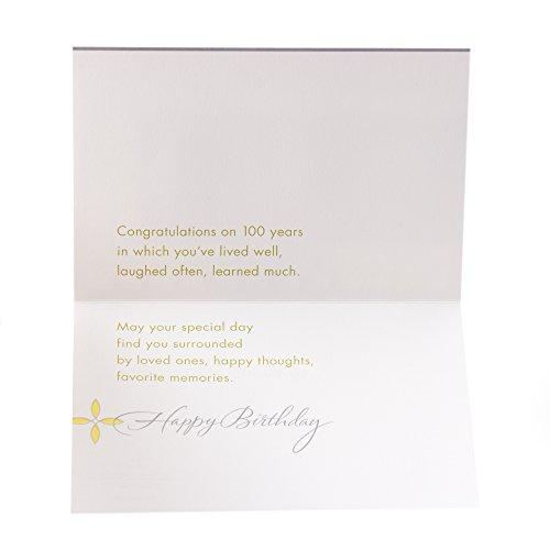 Hallmark 100th Birthday Greeting Card (Circle Pattern) Photo #6