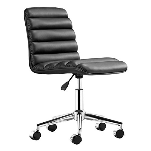 Zuo Admire Office Chair, Black