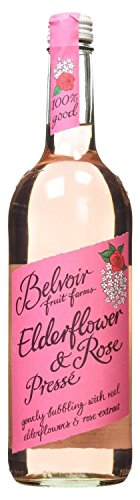 Belvoir Fruit Farms Elderflower and Rose Lemonade 750ml