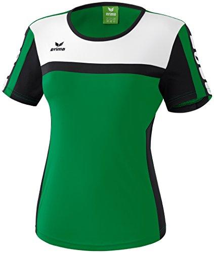 Mujeres Erima 5-CUBOS camiseta 5-CUBOS Serie esmeralda / negro / blanco, Opciones Tamaño: 36 Mujeres