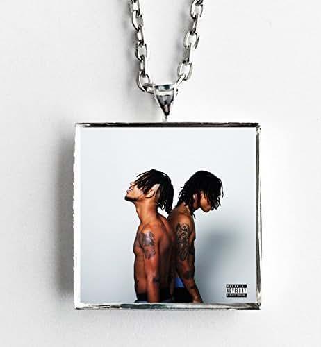 amazoncom album cover art necklace rae sremmurd