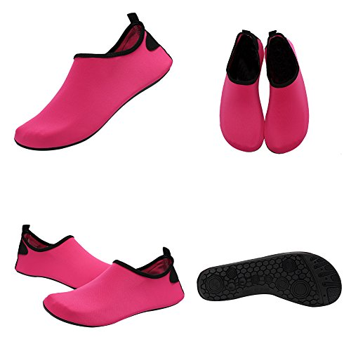 Quick Red01 Kids and Socks FANTINY Yoga Mutifunctional Rose For Barefoot Lightweight Surf Pool Water Shoes Men Dry Women Shoes Aqua Beach Exercise 0rY0qO1