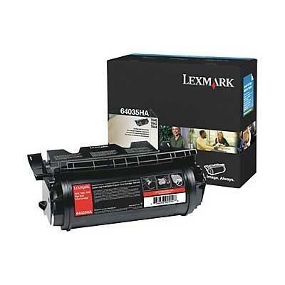 Lexmark 64035ha High Yield - Lexmark Brand T640/T644 High Yield Black Toner - 64035HA