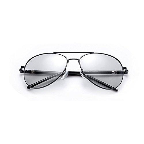 2 Marco Color Polarizadas Noche QY De YQ Uso Gafas De 1 Doble Y Gafas Grande Día De Sol Color Gafas Cambian Que nRnBI4p