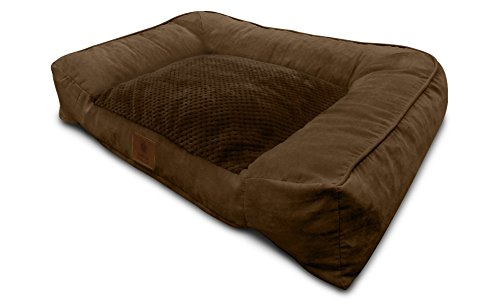 Soft Dog Bed (Brown) - 1
