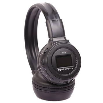 Amazon.com: ZEALOT N65 inalámbrico diadema Auriculares plug ...
