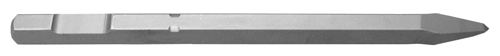 Champion Chisel, 3/4-Inch Hex Demo Shank, 20-Inch Long Moil or Bull Point