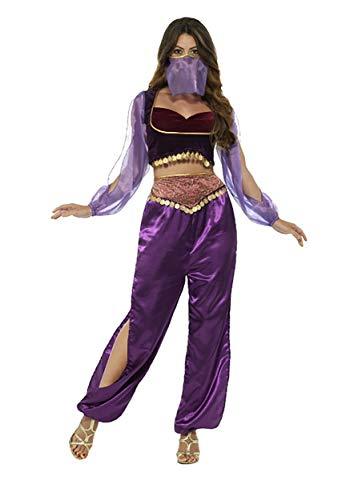 Smiffys Women's Arabian Princess Costume, Purple, Large]()