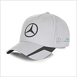 92f300dfdfd08 Mercedes Benz Petronas AMG Formula 1 MAMGP Nico Rosberg Gray Driver Hat   0014181852037  Amazon.com  Books