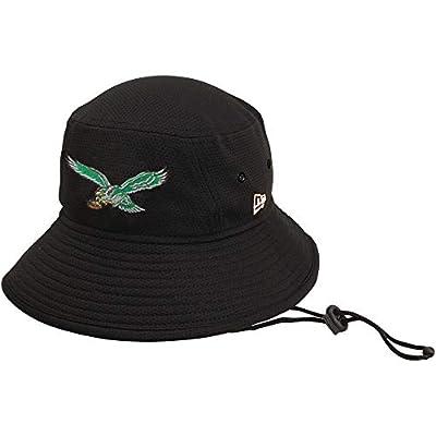 New Era 100% Authentic, NWT, Philadelphia Eagles Classic Historic Logo Bucket Hat Black