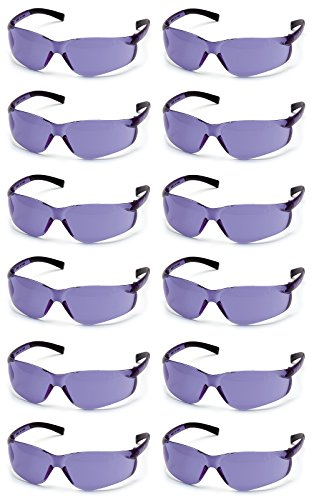 (Pyramex Ztek Safety Glasses Purple Haze Lens S2565S (12 Pair Pack))
