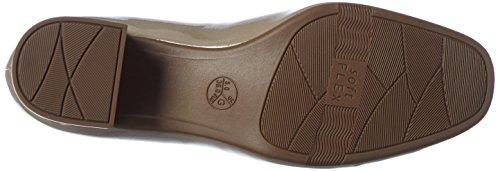 Jana 22302, Zapatos de Tacón para Mujer Beige (Dune Patent)